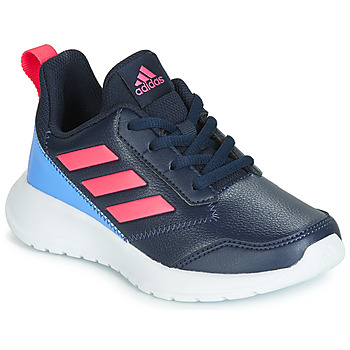 Chaussures Fille Baskets basses adidas Performance ALTARUN K Bleu / Rose