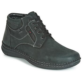 Chaussures Homme Boots Josef Seibel ANVERS 35 Noir