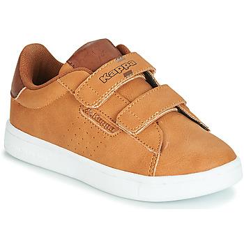 Chaussures Garçon Baskets basses Kappa TCHOURI Marron