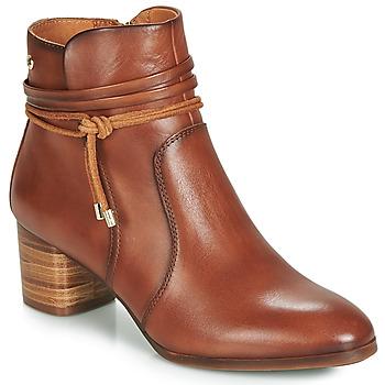 Chaussures Femme Bottines Pikolinos CALAFAT W1Z Marron