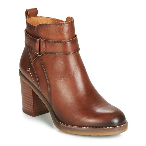 Chaussures Femme Bottines Pikolinos POMPEYA W9T Marron