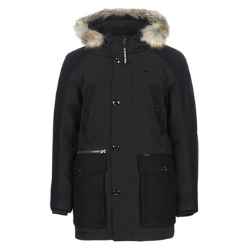Vêtements Homme Parkas G-Star Raw VODAN PADDED HDD PM PARKA Noir
