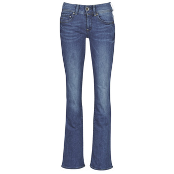 Vêtements Femme Jeans bootcut G-Star Raw MIDGE MID BOOTCUT WMN Bleu Faded Blue