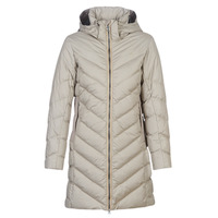 Vêtements Femme Doudounes G-Star Raw WHISTLER SLIM DOWN HDD LONG COAT WMN Beige
