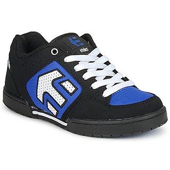 Chaussures Garçon Baskets basses Etnies KIDS CHARTER Noir / Blanc / Bleu