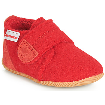 Chaussures Enfant Chaussons Giesswein OBERSTAUFFEN Rouge
