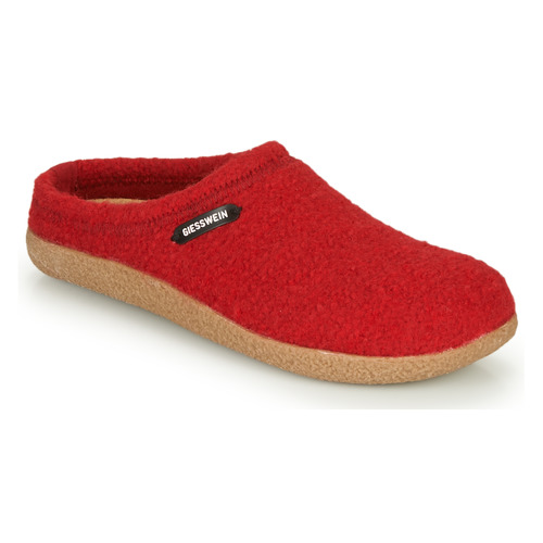 Chaussures Femme Chaussons Giesswein VEITSCH Rouge