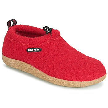 Chaussures Femme Chaussons Giesswein VENT Rouge
