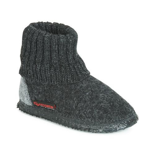 Chaussures Homme Chaussons Giesswein KRAMSACH Anthracite