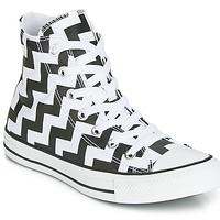 Chaussures Femme Baskets montantes Converse CHUCK TAYLOR ALL STAR GLAM DUNK CANVAS HI Noir / Blanc