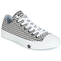 Chaussures Femme Baskets basses Converse CHUCK TAYLOR ALL STAR VLTG LEATHER OX Blanc / Noir