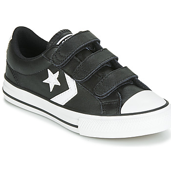 Chaussures Enfant Baskets basses Converse STAR PLAYER EV 3V  LEATHER OX Noir