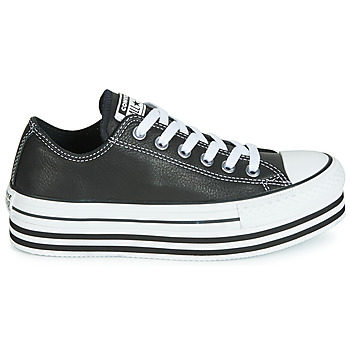 Baskets Basses converse chuck taylor all star layer bottom leather ox