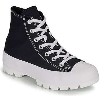 Chaussures Femme Baskets montantes Converse CHUCK TAYLOR ALL STAR LUGGED HI Noir