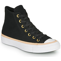 Chaussures Baskets montantes Converse CHUCK TAYLOR ALL STAR VACHETTA LEATHER HI Noir