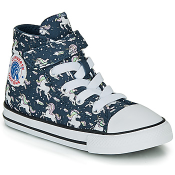 Chaussures Fille Baskets montantes Converse CHUCK TAYLOR ALL STAR 1V UNICONS HI Bleu