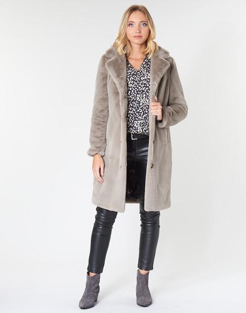 Vêtements Femme Manteaux Oakwood CYBER Dark Beige