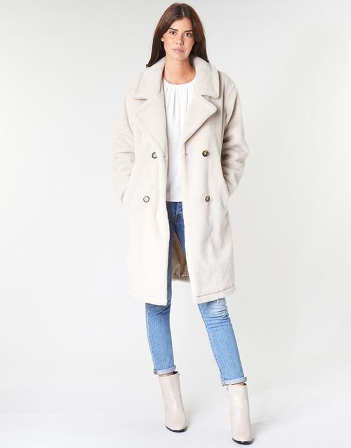Vêtements Femme Manteaux Oakwood AMAZING Beige