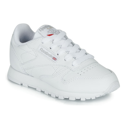 Chaussures Enfant Baskets basses Reebok Classic CLASSIC LEATHER C Blanc
