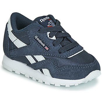 Chaussures Enfant Baskets basses Reebok Classic CL NYLON I Marine