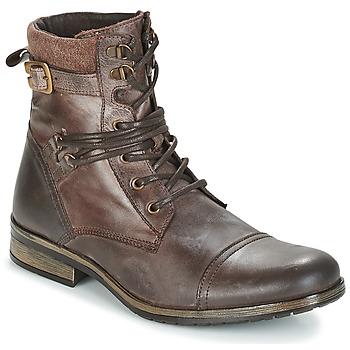 Chaussures Homme Boots Casual Attitude RIVIGH Marron