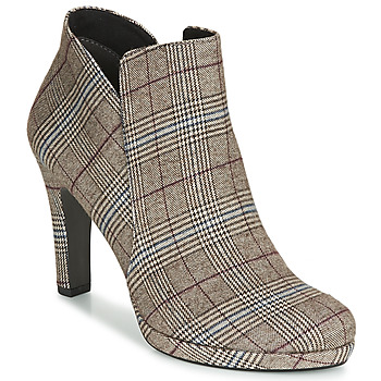 Chaussures Femme Bottines Tamaris LYCORIS Tartan