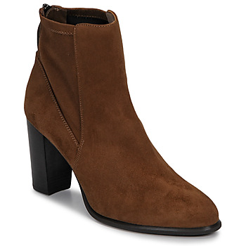 Chaussures Femme Bottines Unisa UNDER Marron
