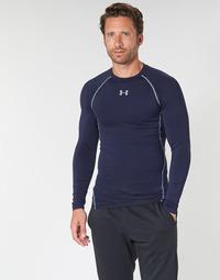 Vêtements Homme T-shirts manches longues Under Armour HEATGEAR ARMOUR LS COMPRESSION Marine