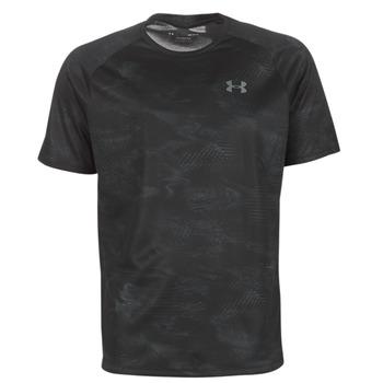 Vêtements Homme T-shirts manches courtes Under Armour TECH 2.0 SS PRINTED Noir