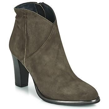 Chaussures Femme Bottines Myma PELMA Kaki