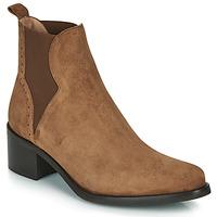 Chaussures Femme Bottines Myma PALMA Cognac