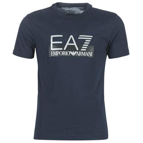 Vêtements Homme T-shirts manches courtes Emporio Armani EA7 GPT81-PJM9Z-1554 Marine