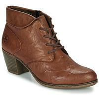 Chaussures Femme Bottines Rieker Y2131-22 Marron