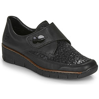 Chaussures Femme Derbies Rieker 537C0-00 Noir