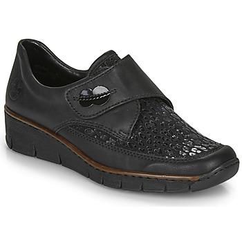 Chaussures Femme Mocassins Rieker 537C0-02 Noir