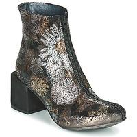 Chaussures Femme Bottines Papucei MATI BLACK FLOWER Fleuri