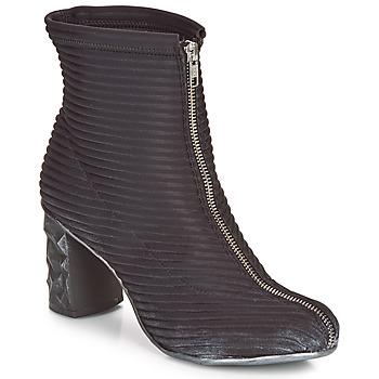 Chaussures Femme Bottines Papucei TEO BLACK Noir