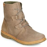 Chaussures Femme Boots El Naturalista ANGKOR Gris