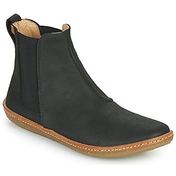 Chaussures Femme Boots El Naturalista CORAL Noir