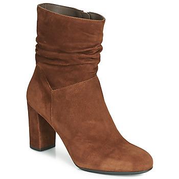 Chaussures Femme Bottines Perlato 11265-CAM-COGNAC Cognac