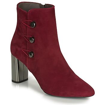Chaussures Femme Bottines Perlato CAMINA Rouge