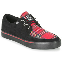 Chaussures Baskets basses TUK CREEPER SNEAKERS Noir / Tartan