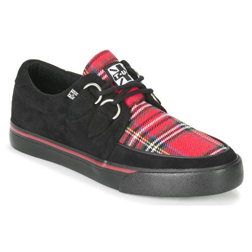 Chaussures Baskets basses TUK CREEPER SNEAKER Noir / Tartan