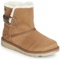 Chaussures Fille Boots Tom Tailor  Camel