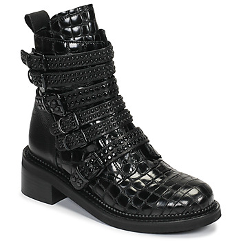 Chaussures Femme Boots Mimmu RIPTILUS Noir