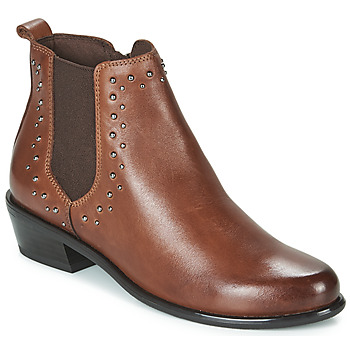 Chaussures Femme Boots Caprice ALICIA Cognac