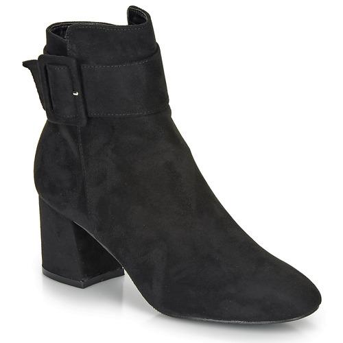Chaussures Femme Bottines Moony Mood FAZIOLE Noir