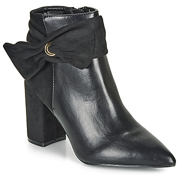 Chaussures Femme Bottines Moony Mood FALABEL Noir