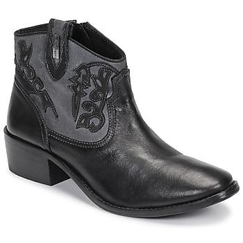 Chaussures Femme Bottines Les Tropéziennes par M Belarbi AMELIE Noir