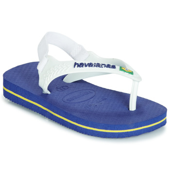 Chaussures Garçon Sandales et Nu-pieds Havaianas BABY BRASIL LOGO Marine
